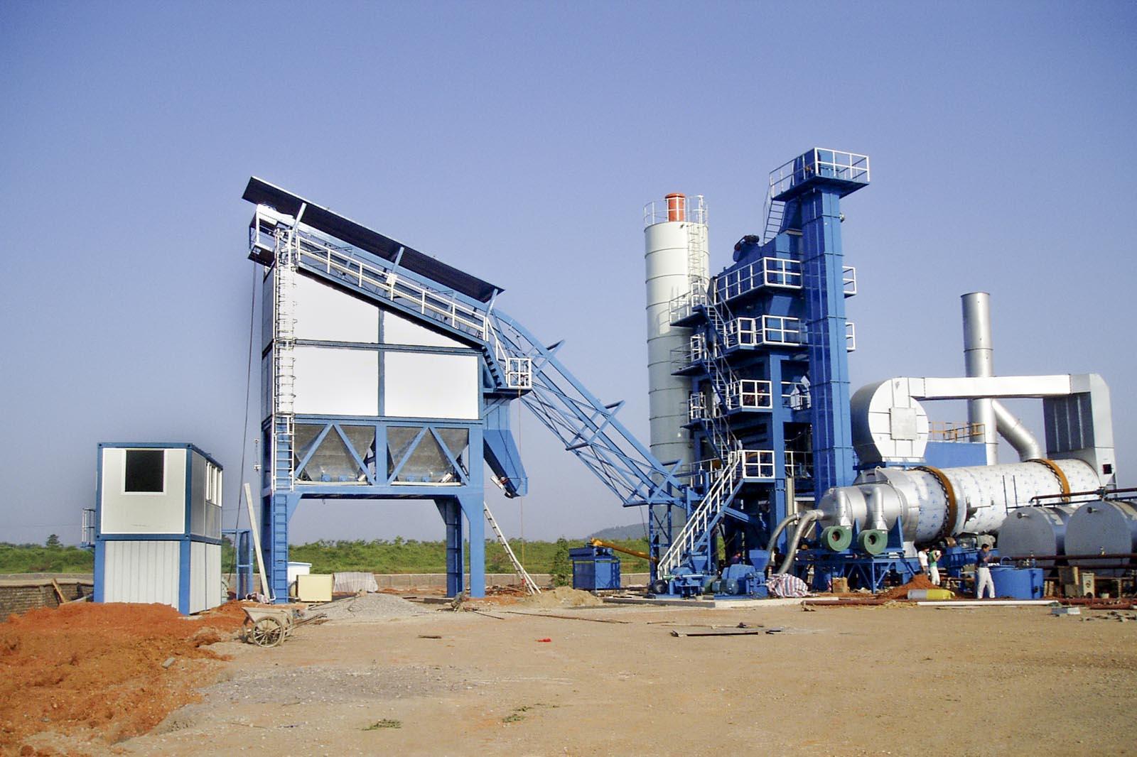 Быстромонтируемый асфальтобетонный завод (АБЗ) RD 200
