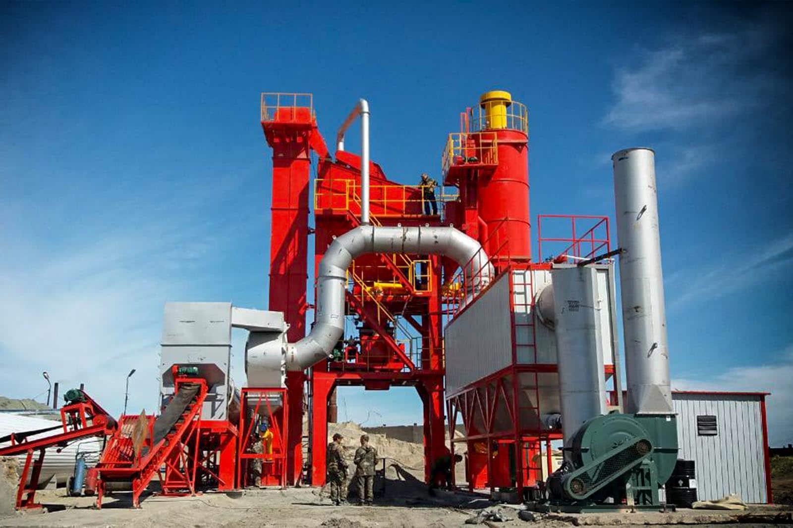 наладка фото - Асфальтобетонные заводы (АБЗ) услуги по поставке